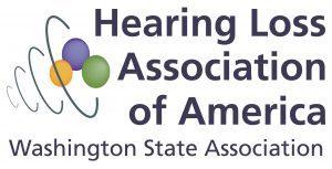 Hearing Loss Association of America - Washington State Association logo