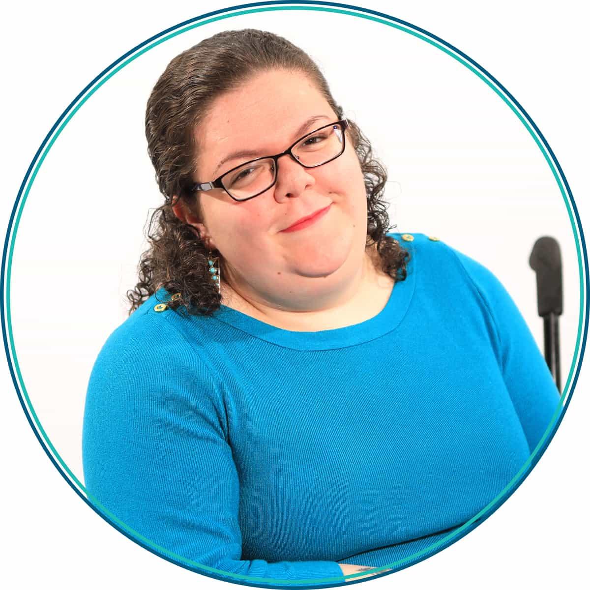 Headshot of Emily Ladau